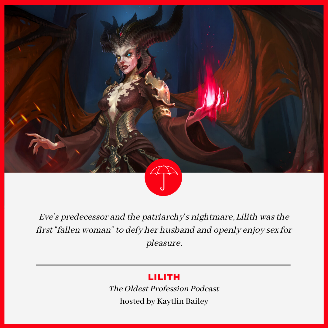 Lilith - The Oldest Profession Podcast